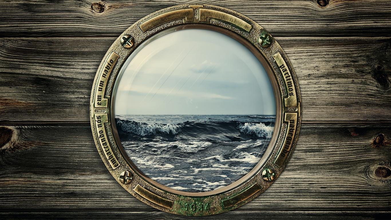 wallpaper cristao hd embarcando nós navio partimos navegando pelos lugares da costa da Ásia janela vidro_1366x768