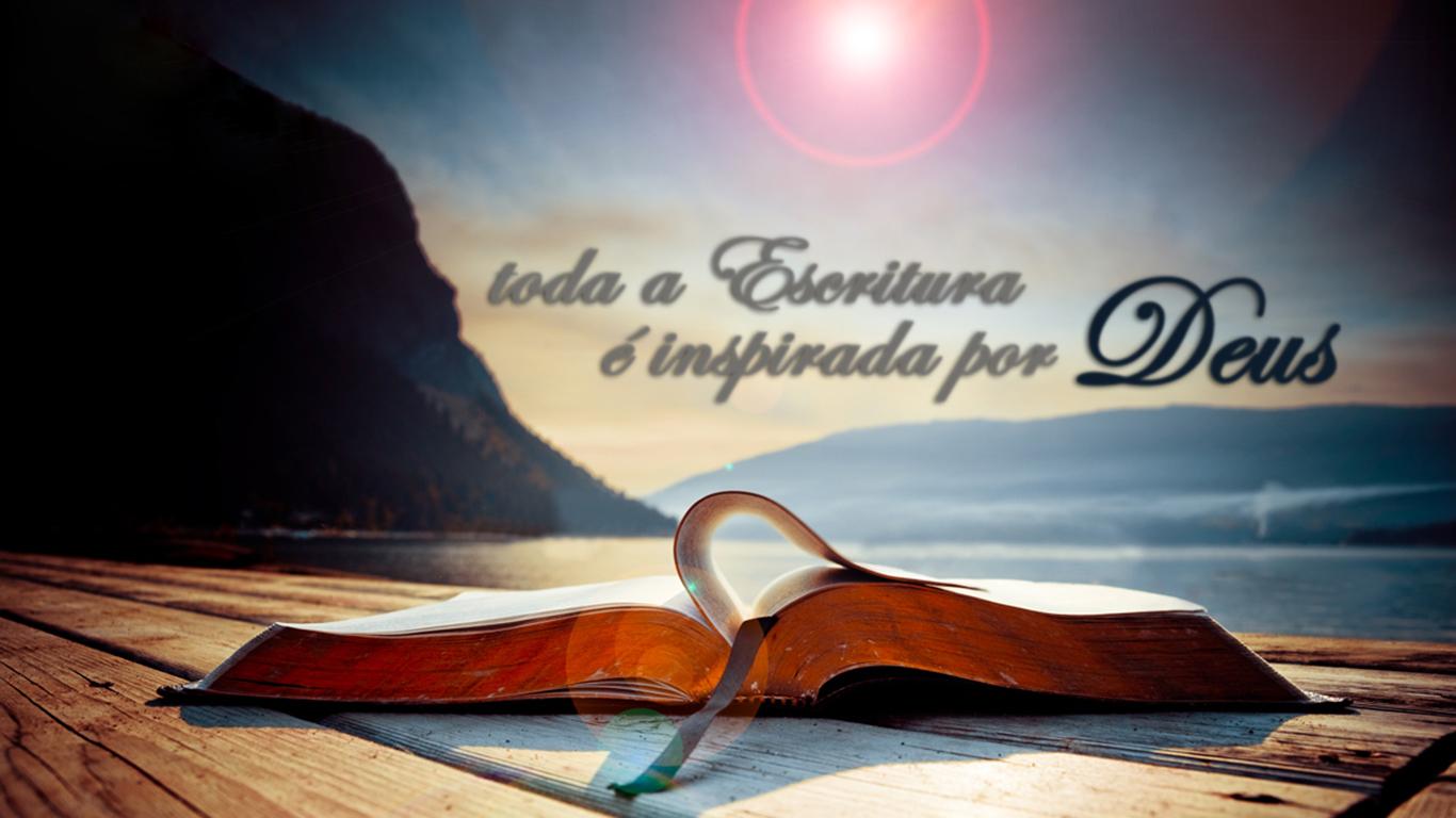 wallpaper cristao hd toda a Escritura é inspirada por Deus_1366x768