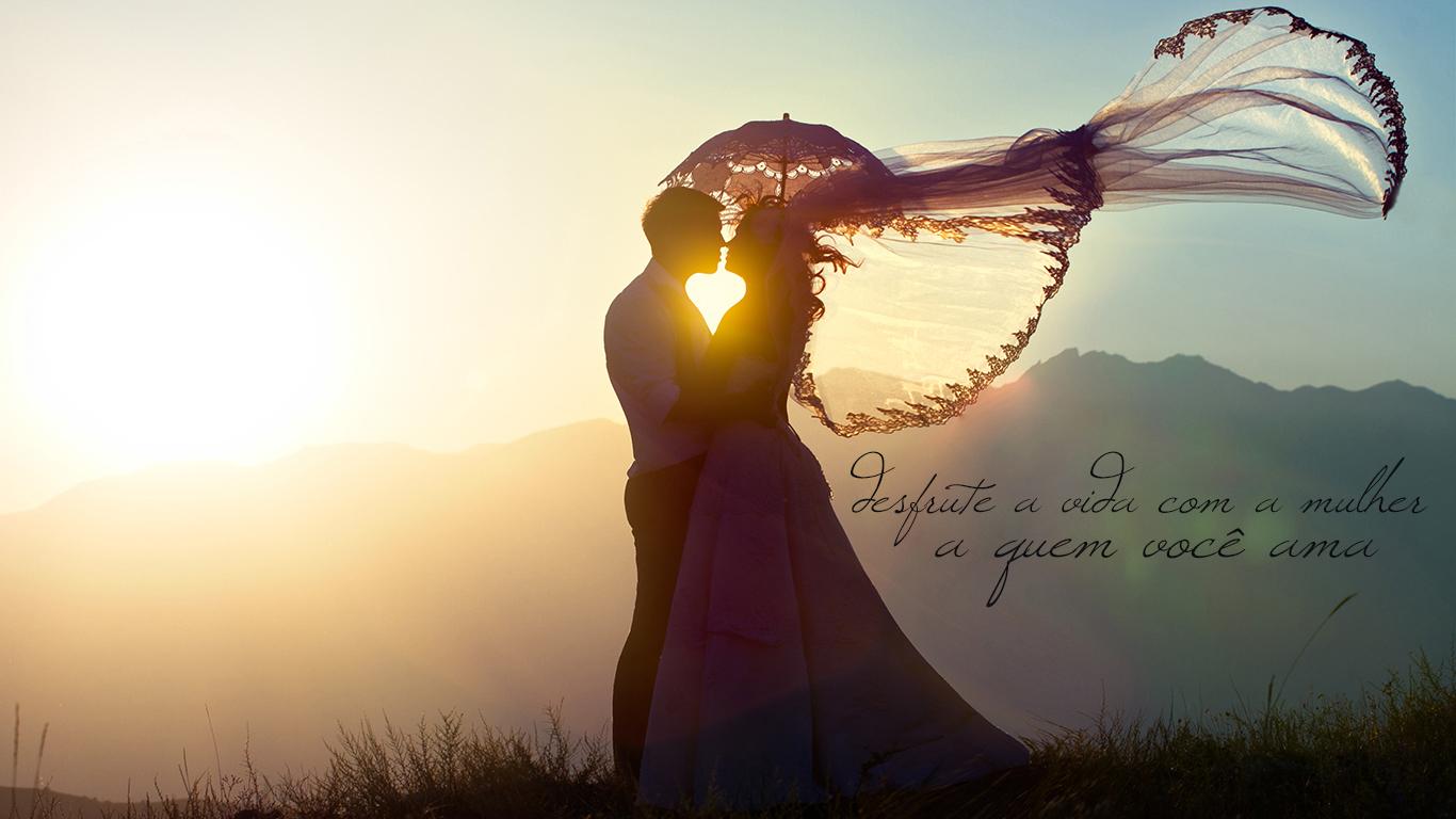 wallpaper cristao hd desfrute a vida com a mulher a quem você ama_1366x768