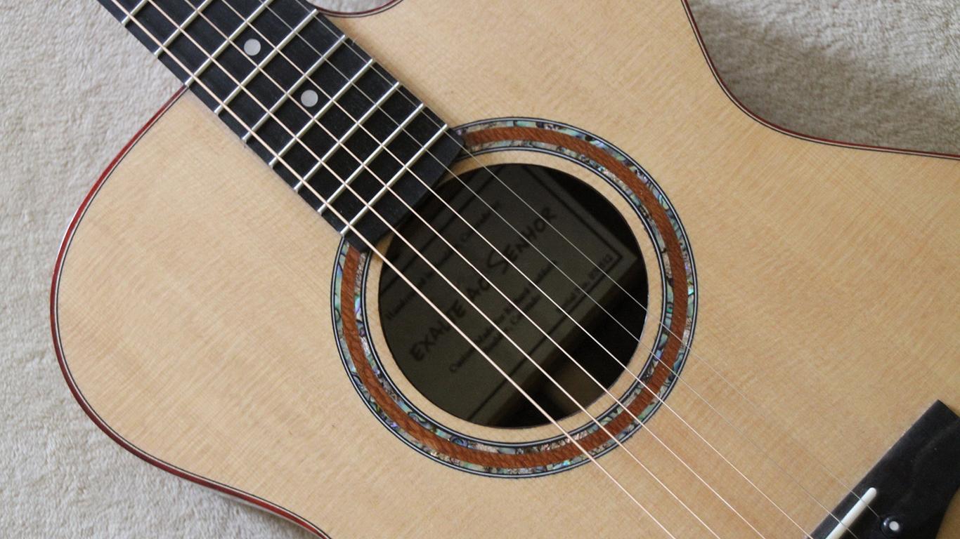 wallpaper cristao hd  exalte ao Senhor violão_1366x768