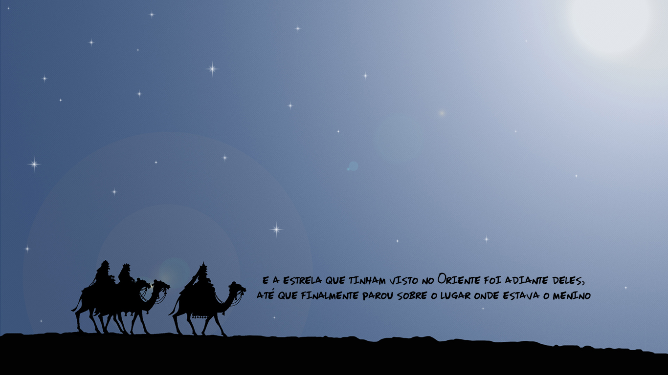 wallpaper cristao hd estrela reis natal camelos Jesus_1366x768
