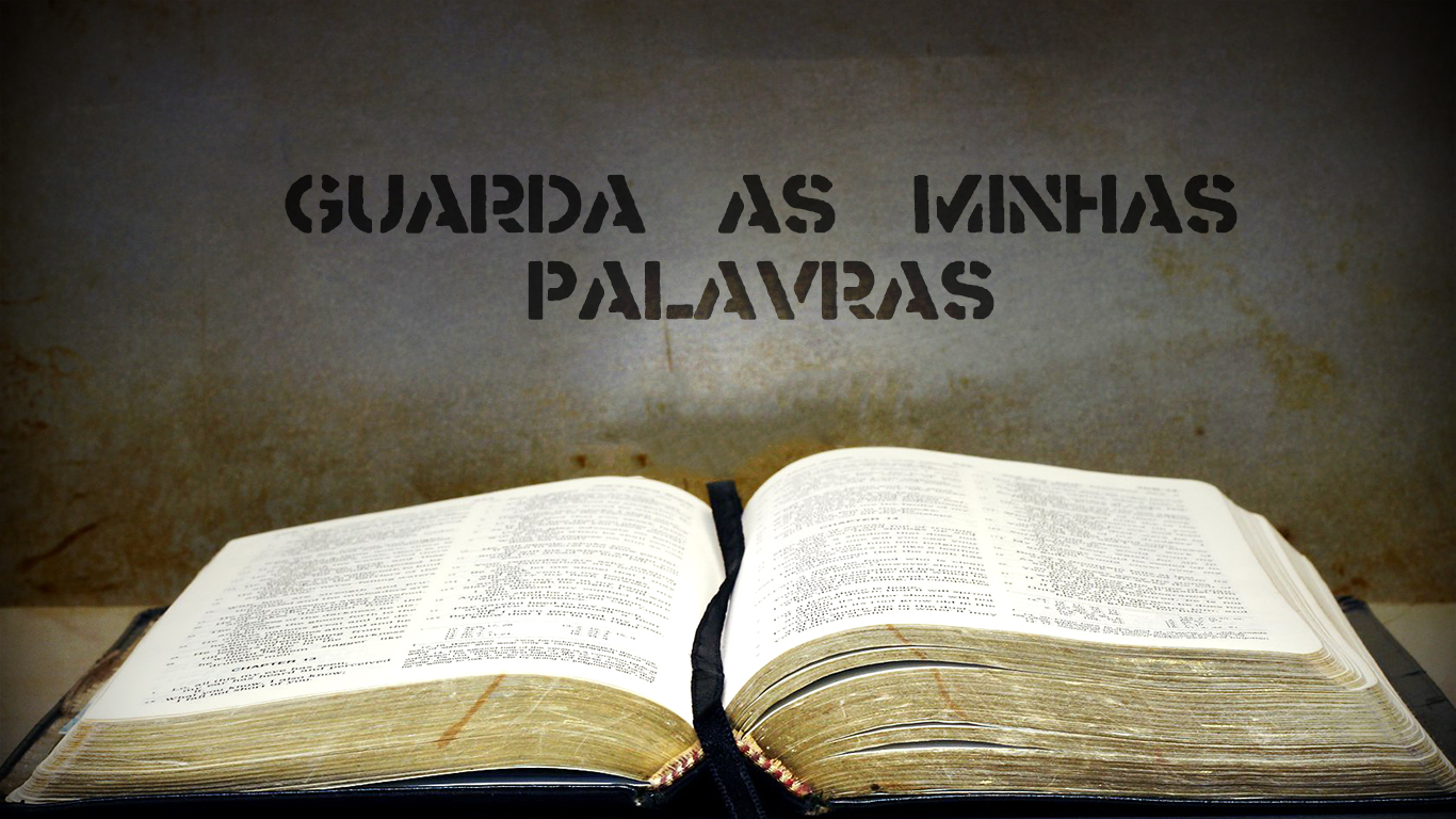 wallpaper cristao hd guarda as minhas palavras bíblia aberta_1366x768