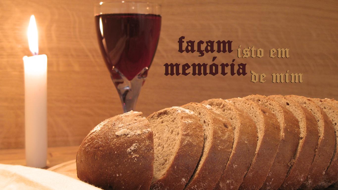 wallpaper cristao hd façam isto em memória de mim Santa ceia pão vinho_1366x768