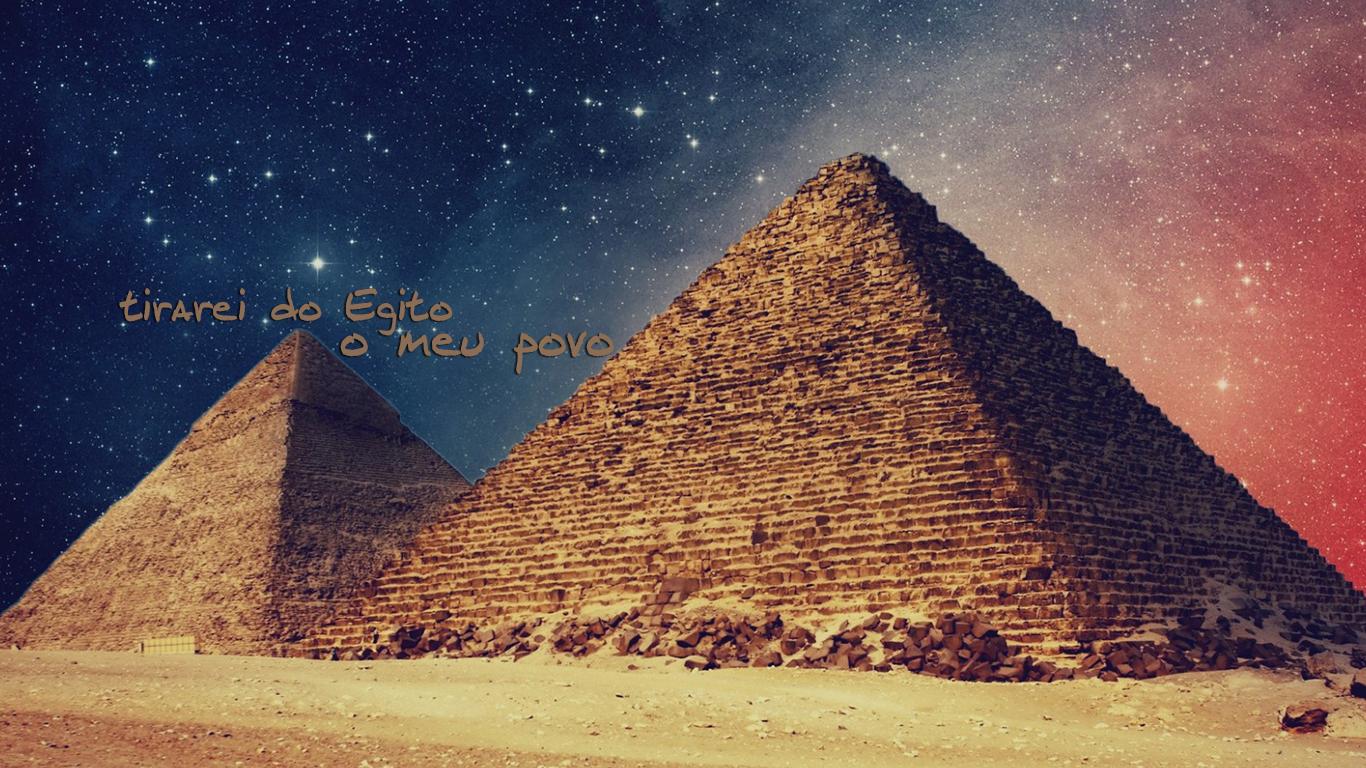 wallpaper cristao hd tirarei do Egito meu povo_1366x768