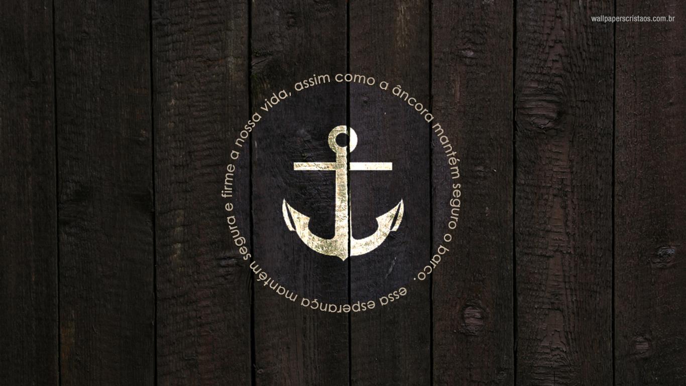 wallpaper cristao hd esperança vida ancora barco_1366x768
