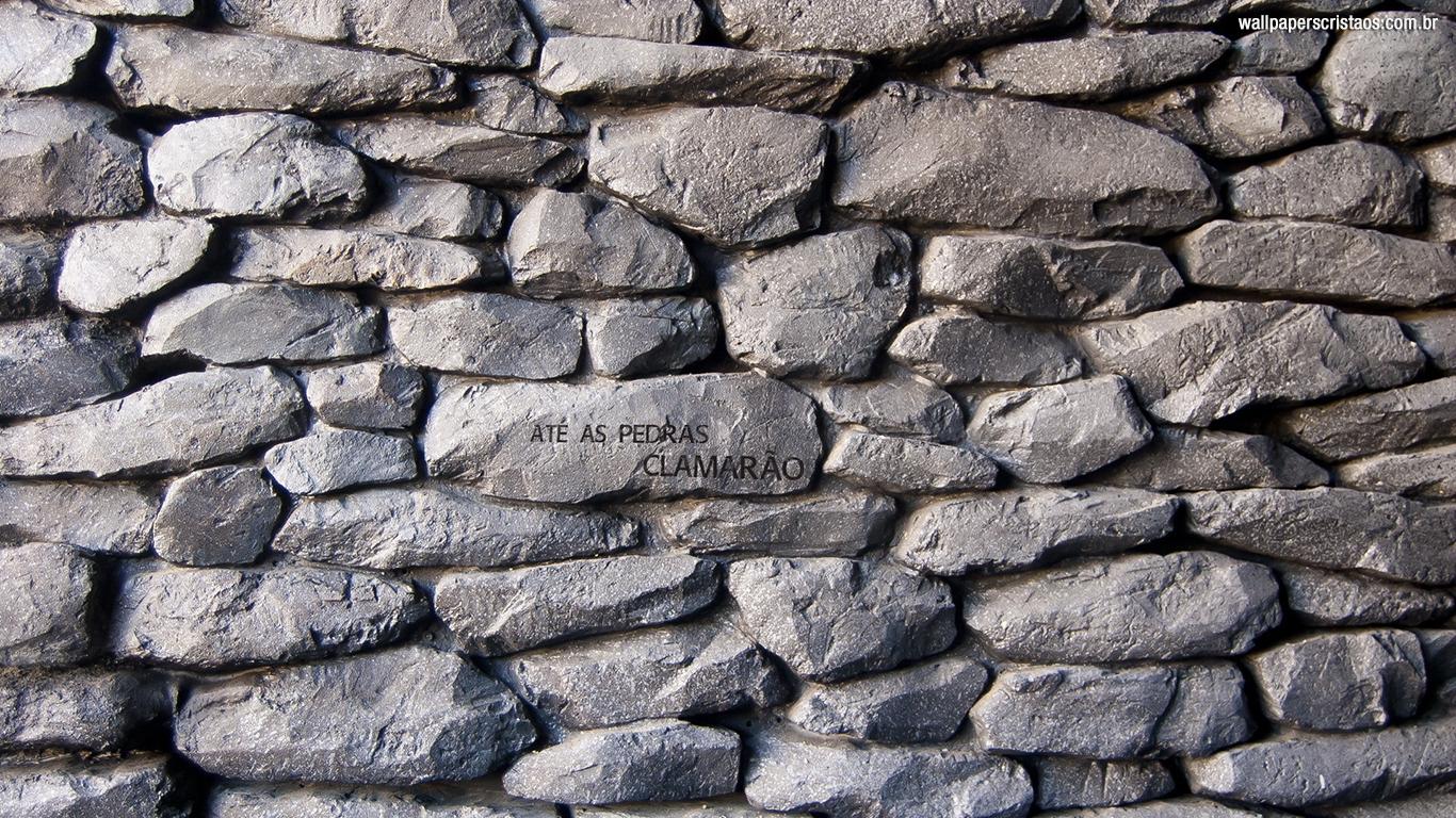 wallpaper cristao hd até as pedras clamarão_1366x768