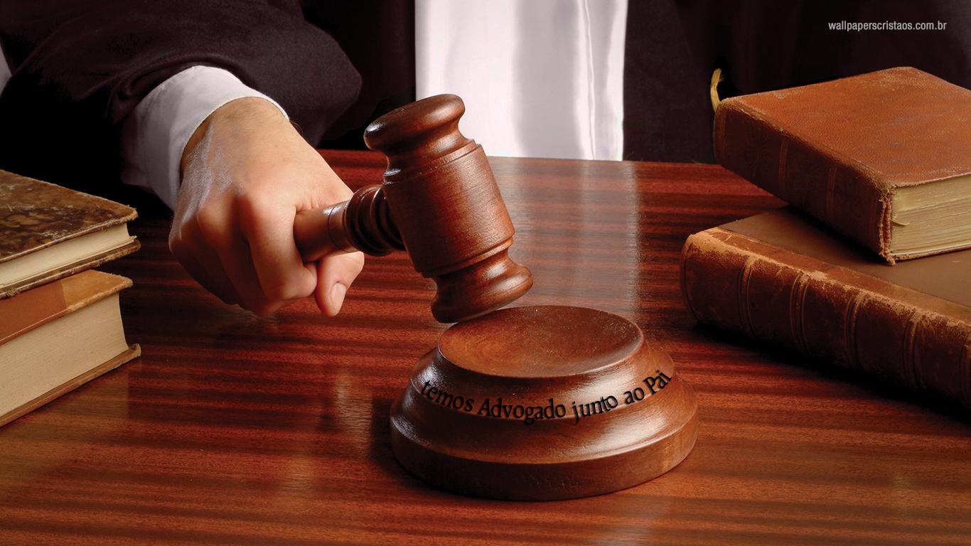 wallpaper cristão hd temos Advogado junto ao Pai_1366x768