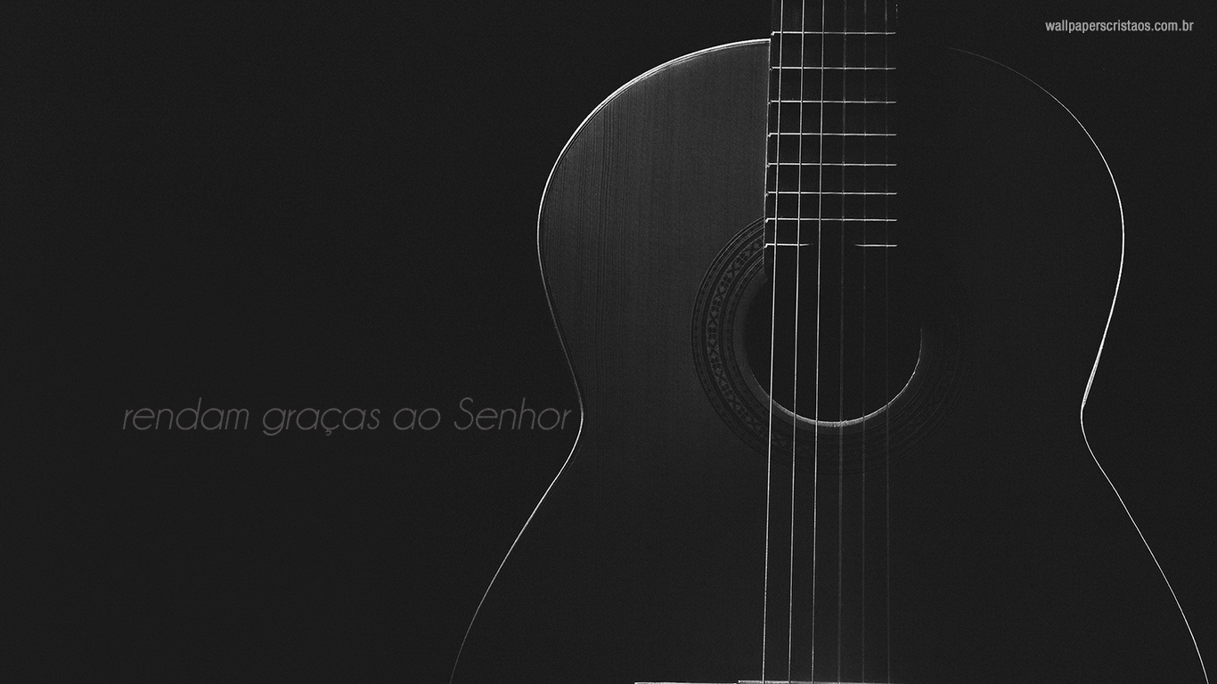 wallpaper cristao hd rendam graças Senhor bondade_1366x768