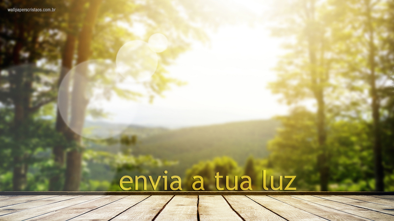 wallpaper cristao hd envia a tua luz_1366x768