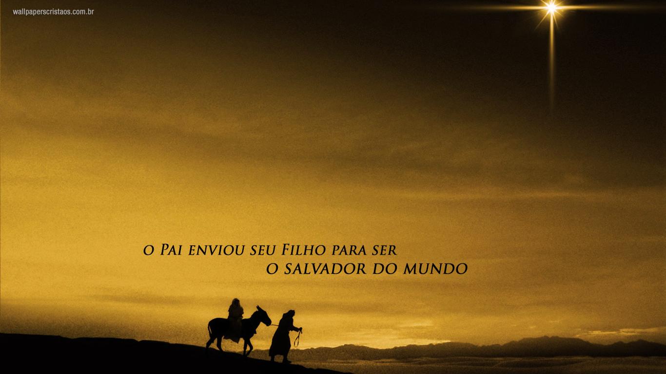 wallpaper cristao Pai enviou Filhoser salvador mundo_1366x768